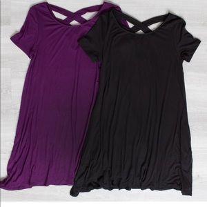 Amelia James Valencia Tunic/ Dress Black only